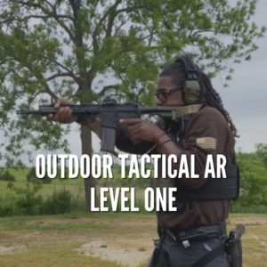Outdoor Tactical AR Level One